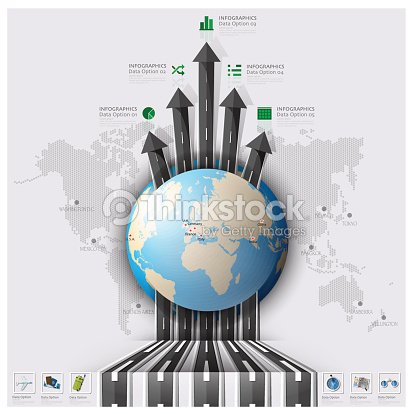 3d0fcf6f31ca Road And Street Runway Travel Journey World Map Business