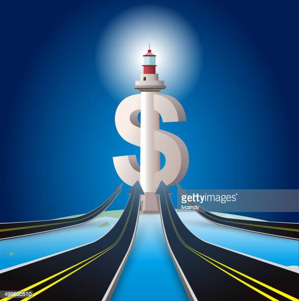 Road to wealth lighthouse