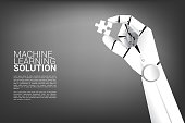 Business concept for machine learning and a.i artificial intelligence