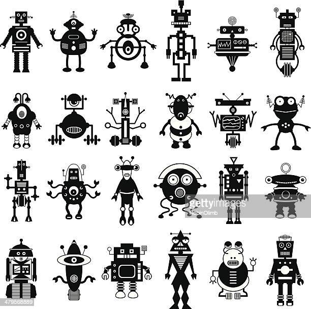 Robot Icon Set