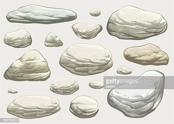 Illustrations et dessins anim s de rocher getty images - Dessin rocher ...