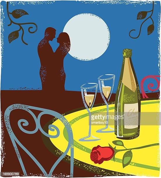 Romantic Valentines scene