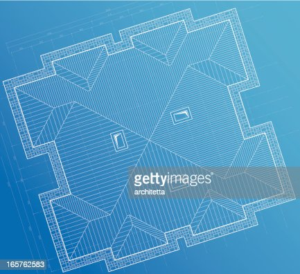 Roof vector art and graphics getty images blueprint background roof vector art and graphics getty images malvernweather Choice Image