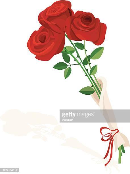 Rosen für Valentinstag