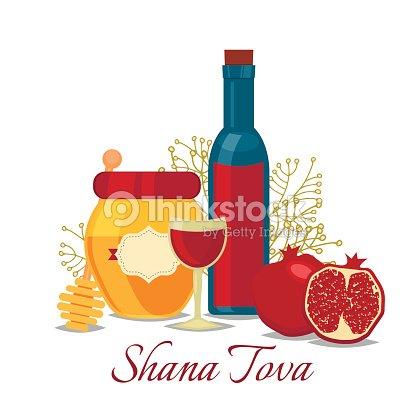 Rosh hashana jewish new year greeting card vector art thinkstock rosh hashana jewish new year greeting card vector art m4hsunfo