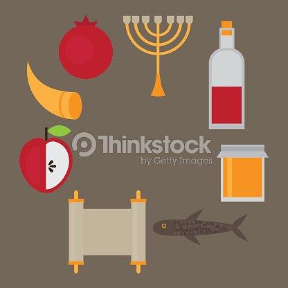 Rosh hashanah jewish new year greeting card vector art thinkstock rosh hashanah jewish new year greeting card vector art m4hsunfo