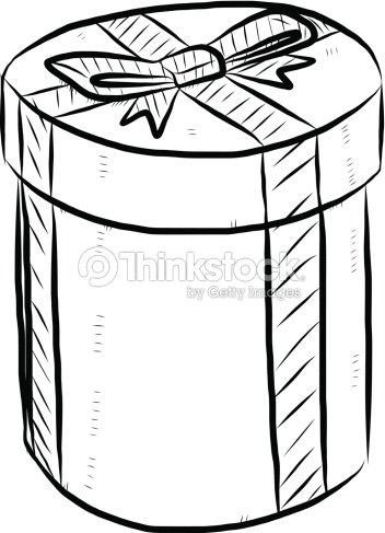 Round gift box cartoon vector art thinkstock round gift box cartoon negle Choice Image