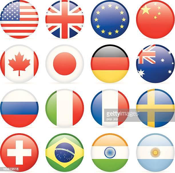 Aller plus prisés d'icônes drapeau