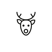 Free Rudolph Outline Cliparts, Download Free Clip Art ... |Rudolf Reindeer Outline