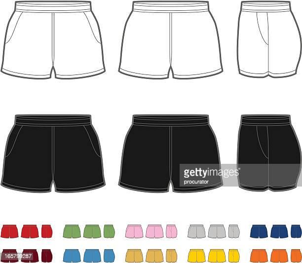 illustrations et dessins anim s de short getty images. Black Bedroom Furniture Sets. Home Design Ideas