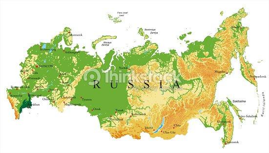 Russia relief map vector art thinkstock russia relief map vector art gumiabroncs Choice Image