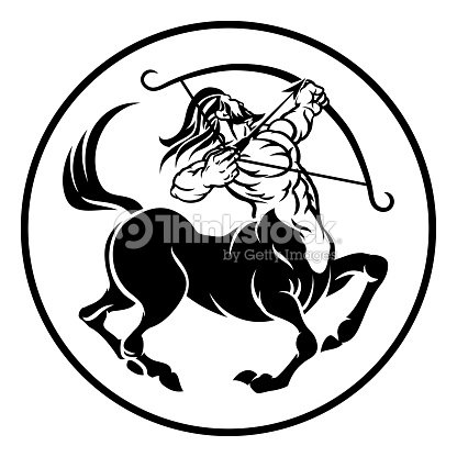 Sagittarius Centaur Zodiac Horoscope Sign Vector Art Thinkstock