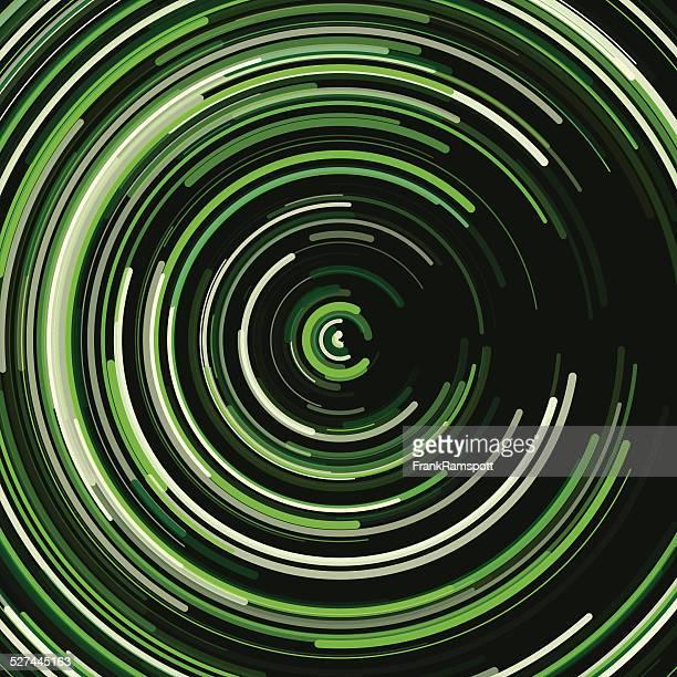 Salad Concentric Circle Pattern