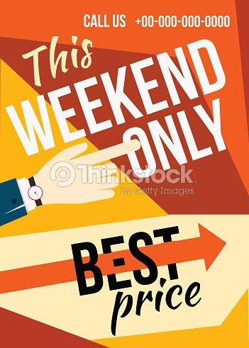 sale flyer vector art thinkstock
