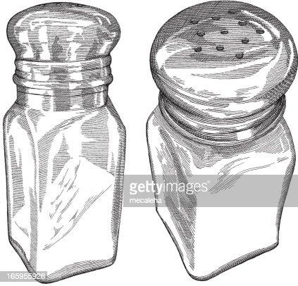 Salt Shakers Vector Art Getty Images