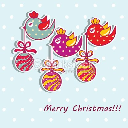 Sample Christmas Cards With Christmas Decorations Vector Art – Sample of Christmas Greetings