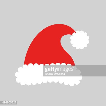 Sombrero de Santa claus : Arte vectorial