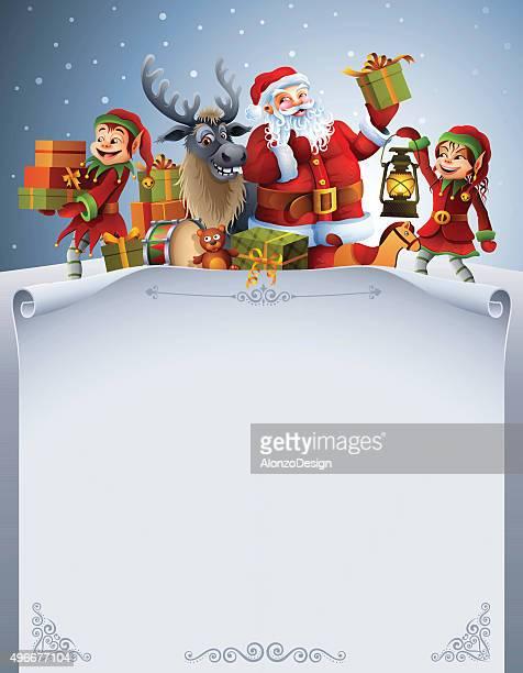 Santa Claus liste