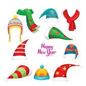 Xmas, Objects, Festive, Celebrations, Clothing, Head