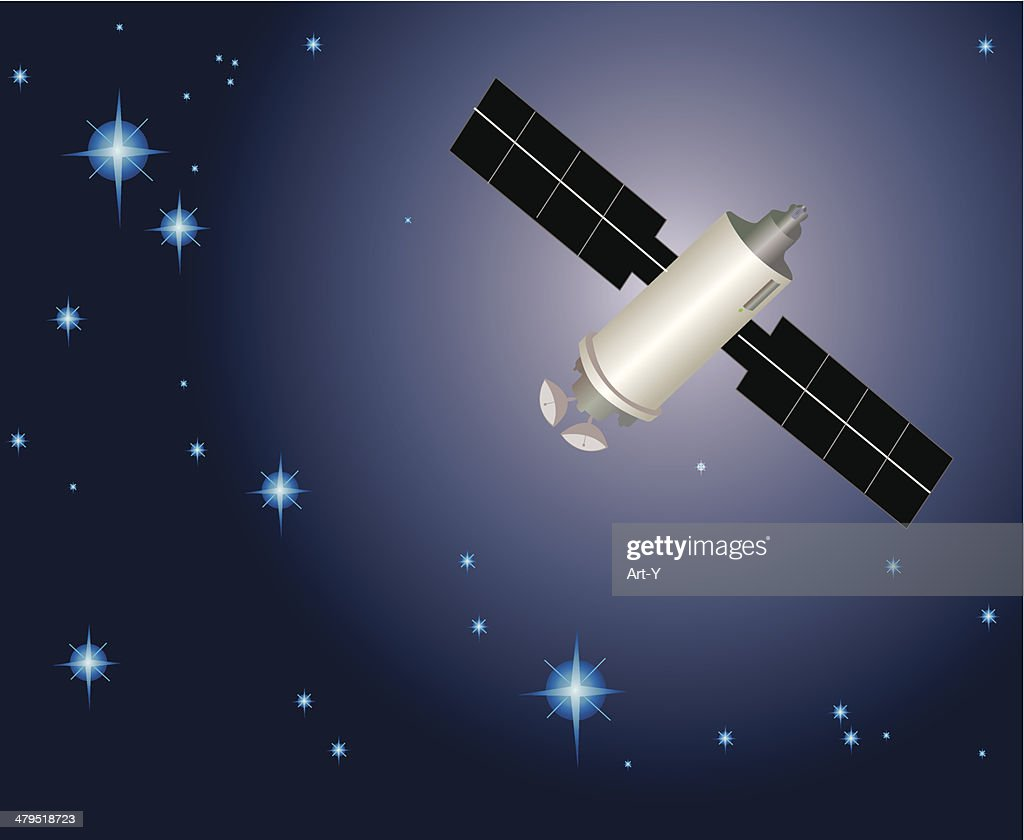 Satellite Vector Art   Getty Images