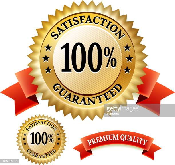 Soddisfazione garantita Distintivo rosso Collection