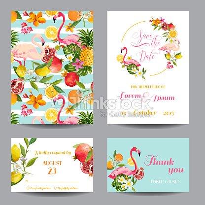Speichern Sie Der Termin Der Hochzeitskarten In Floraler Hintergrund