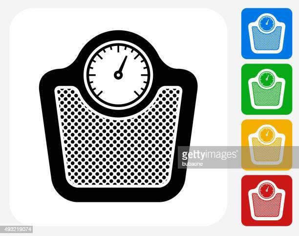 Scale Icon Flat Graphic Design