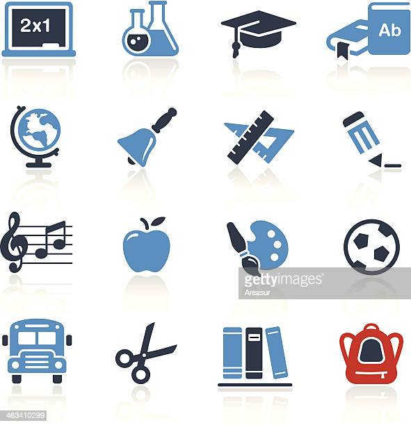 School and Education Icons Two Color | Pro Series