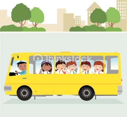 Bus scolaire clipart vectoriel thinkstock - Bus scolaire dessin ...