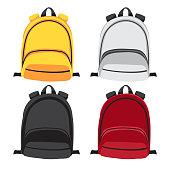 schoolbag vector collection design