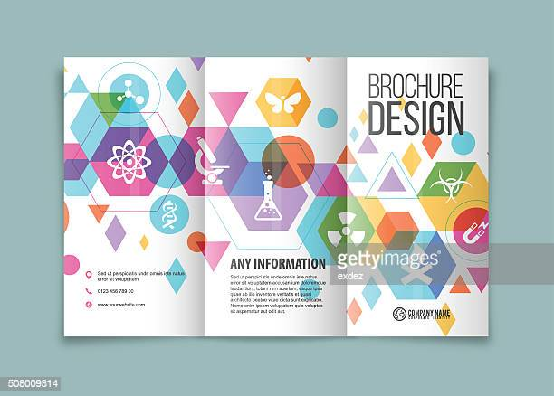 Science and technology trifold