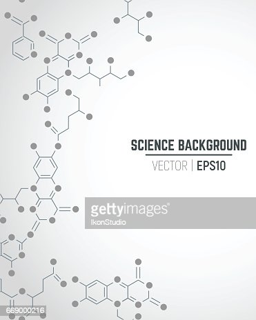 Science background : stock vector