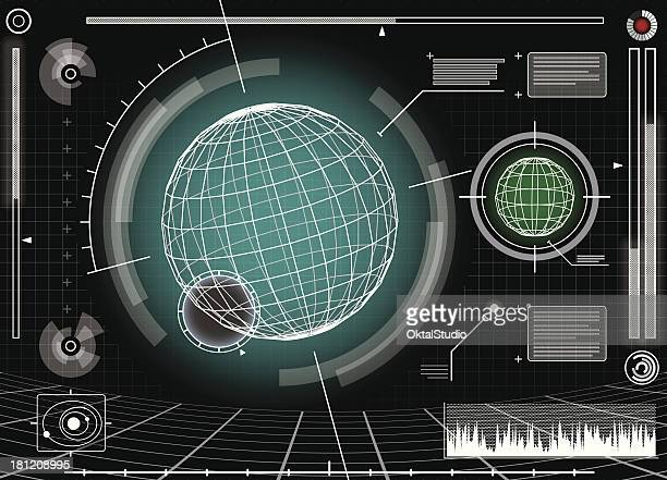 Science Fiction Abstract Background