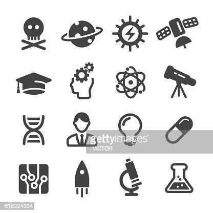 Science Icons - Acme Series : Vector Art