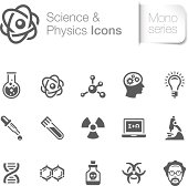 A useful science & physics related icons. Suitable for your design project. The file contain transparency eps10. ZIP folder include AICS4.