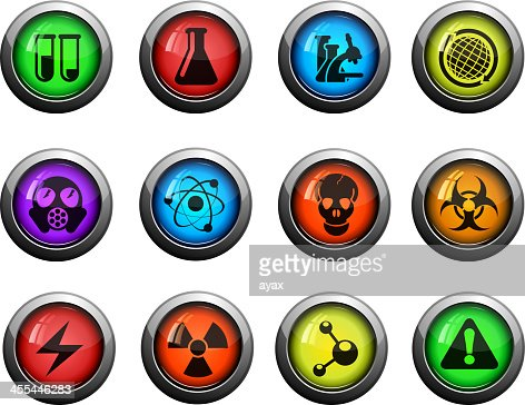 science symbols vector art getty images