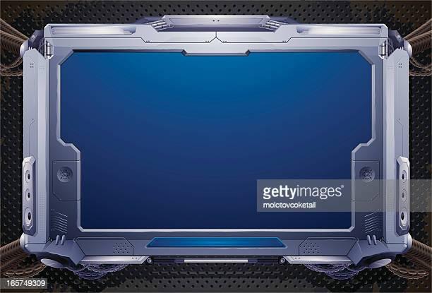 sci-fi à écran plat