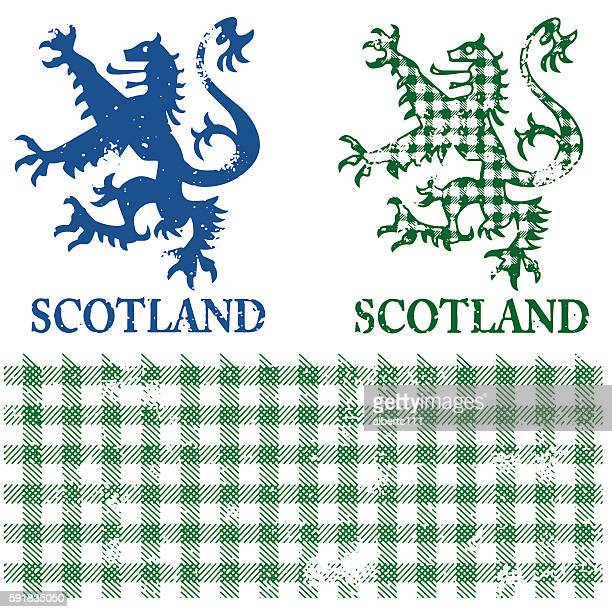 Scottish Lion Graphic