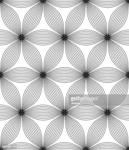 Seamless Abstract Flowers