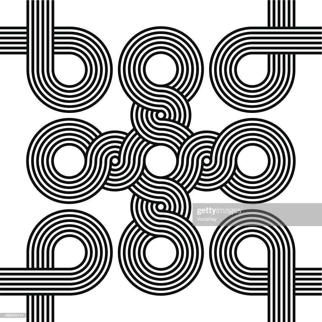 Seamless Art Deco Background Texture : Vektorgrafik