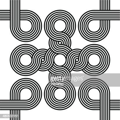 Seamless Art Deco Background Texture : Vector Art