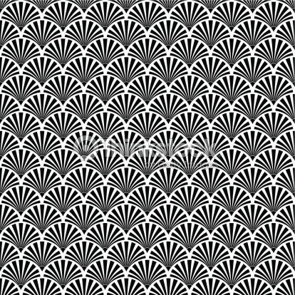 Nahtlose Textur Artdécostil Vektorgrafik Thinkstock