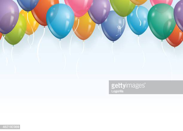 Nahtlose Luftballons Hintergrund