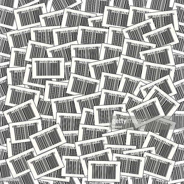 Seamless Barcode Vector Background