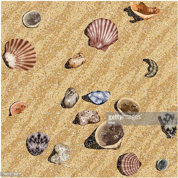 Nahtlose Strand Hintergrund