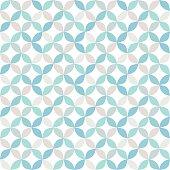 Seamless bright geometric circle pattern. vector