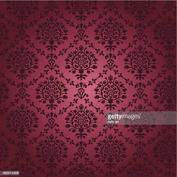 Seamless papel tapiz damascena