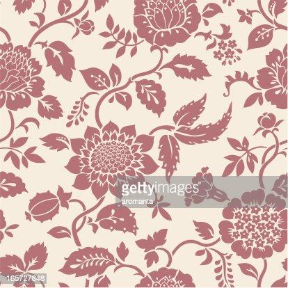 motif floral sans clipart vectoriel getty images. Black Bedroom Furniture Sets. Home Design Ideas