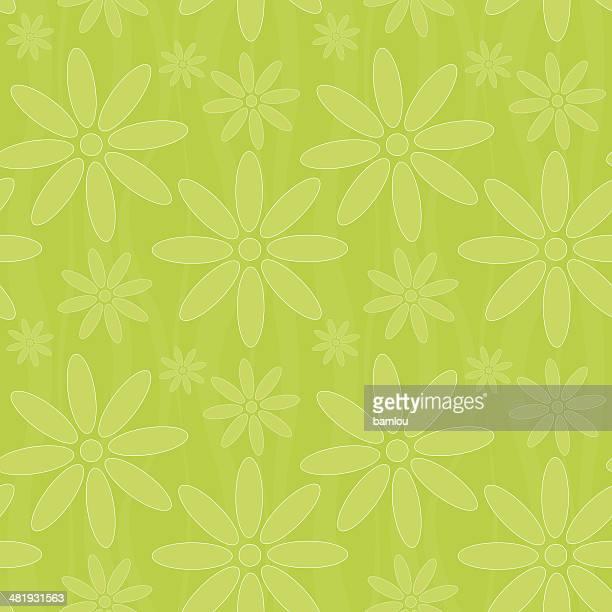 Nahtlose Blumen Hintergrund