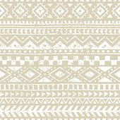 seamless geometric pattern, print for your textile, ethnic and tribal motifs, gray and white ornament, grungy texture, vector illustrations